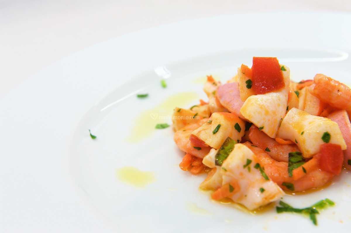 Antipasti di Pesce Chef