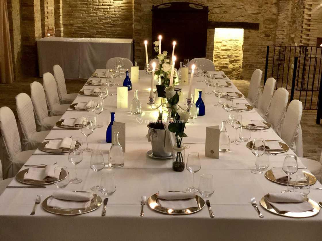 Tavolo Imperiale Sala Frantoio