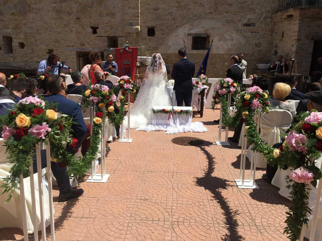 Matrimonio civile in Terrazza