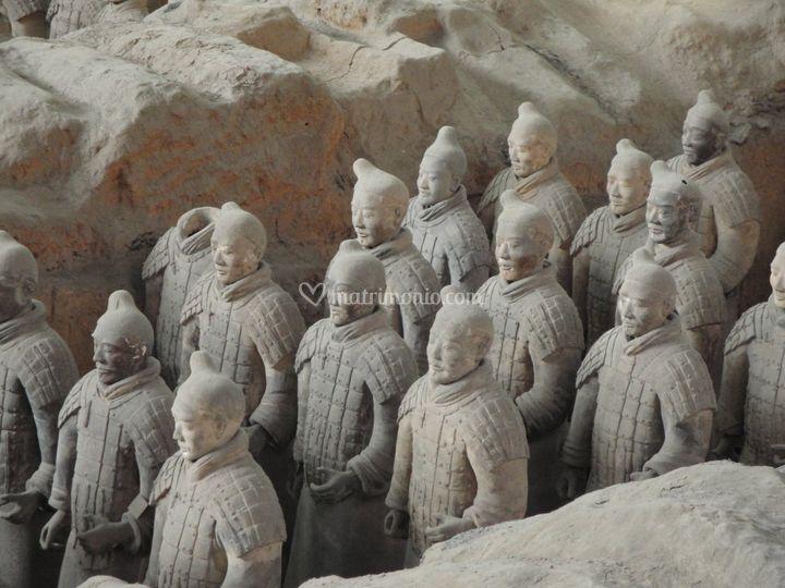 Cina l'esercito di terracotta