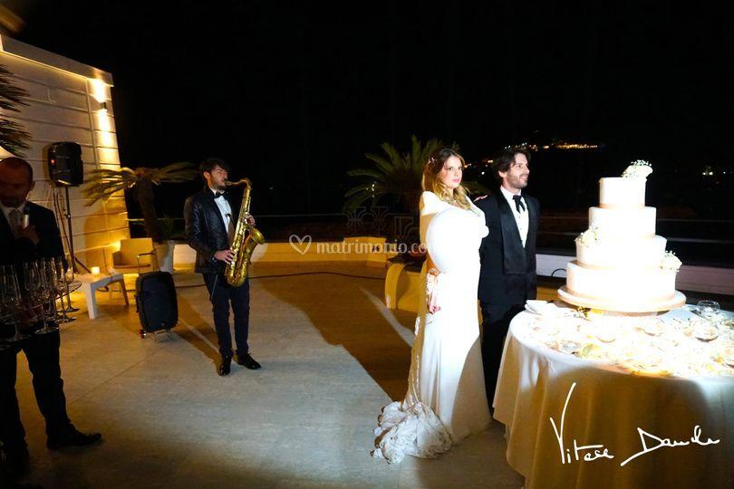 Momento torta a Villa Scalera