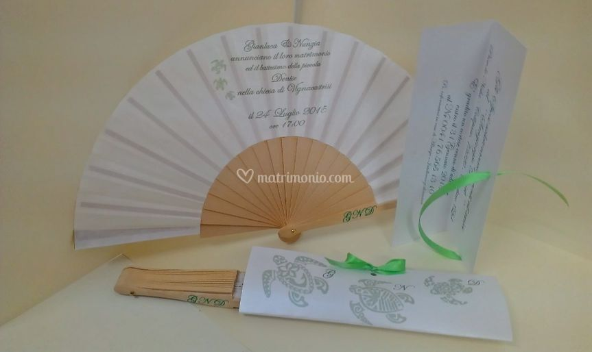 Partecipazioni di nozze su stoffa migliore collezione for Progetti di edilizia eco friendly