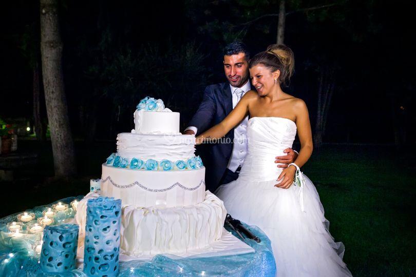 Il momento della torta
