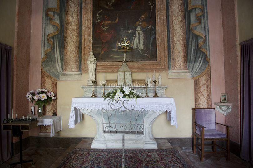 Altare chiesetta