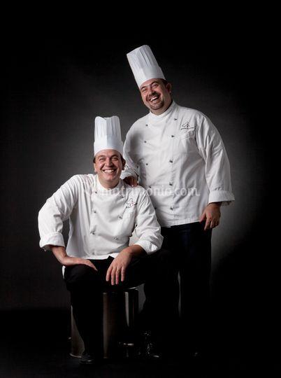 Mirco e Moreno, gli chef