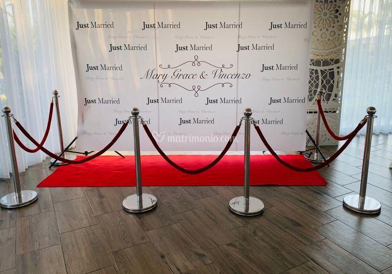 Red Carpet personalizzato