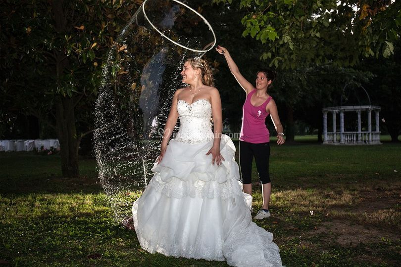 Bolle con sposa