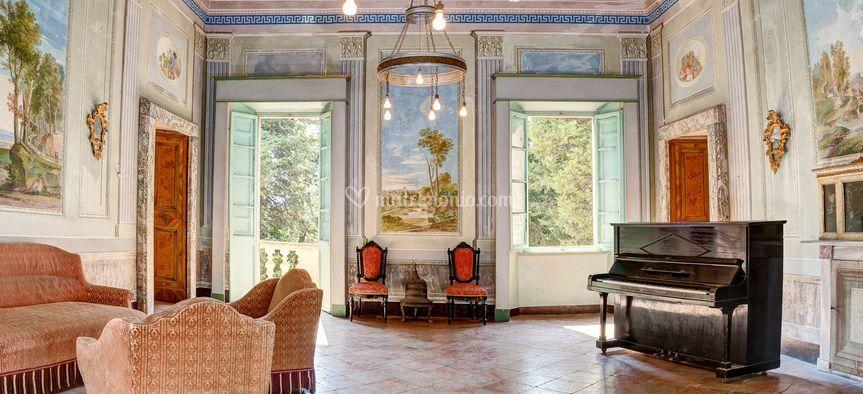 Le stanze di Villa Koch