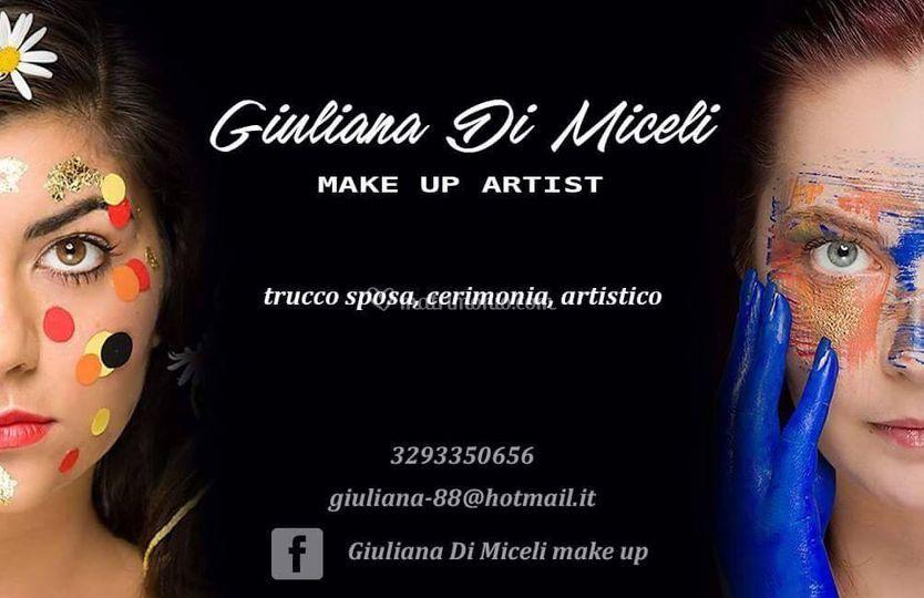 Biglietto Da Visita Di Giuliana Di Miceli Make Up Foto 12