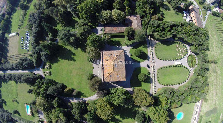 La location dall'alto (drone)