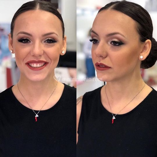 Rosso Rossetto make up