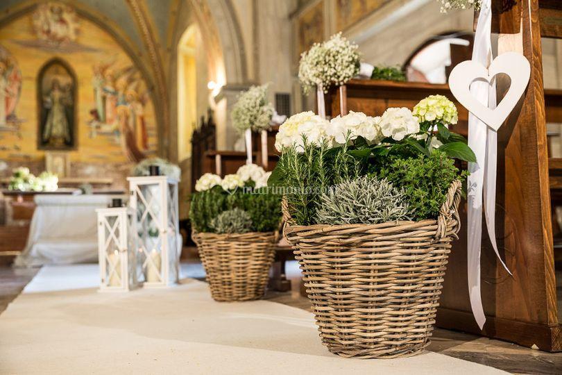 Allestimento Matrimonio Bohemien : Fiori e poi