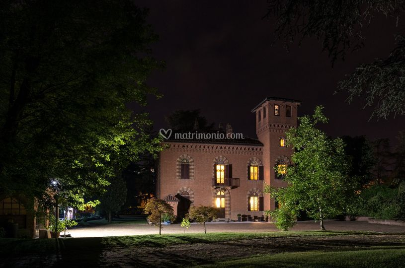 Villa OttoQuadri by night