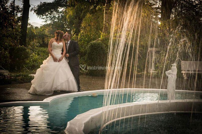 Fontana di  Tenuta Villa Rosa