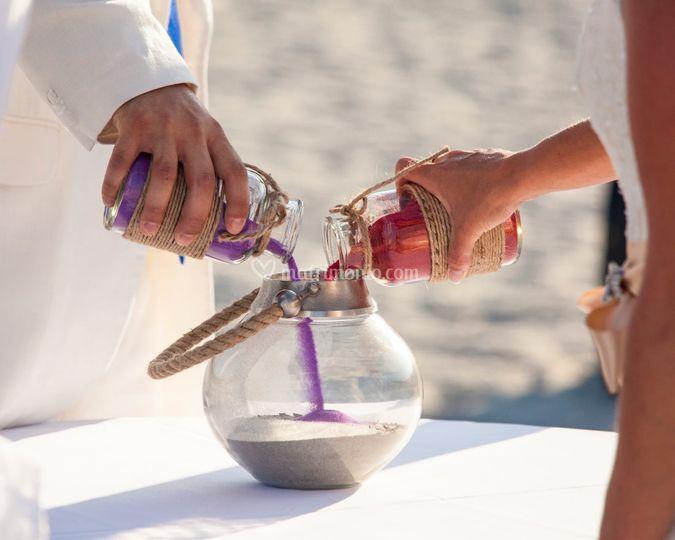 Cerimonia della sabbia