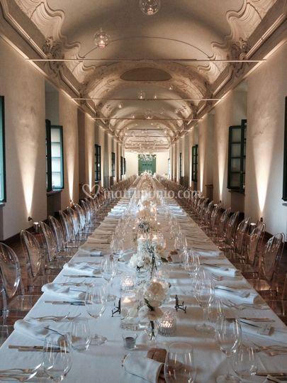Particolari tavolo imperiale
