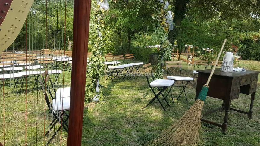 Villa Fior di Loto, Matrimonio