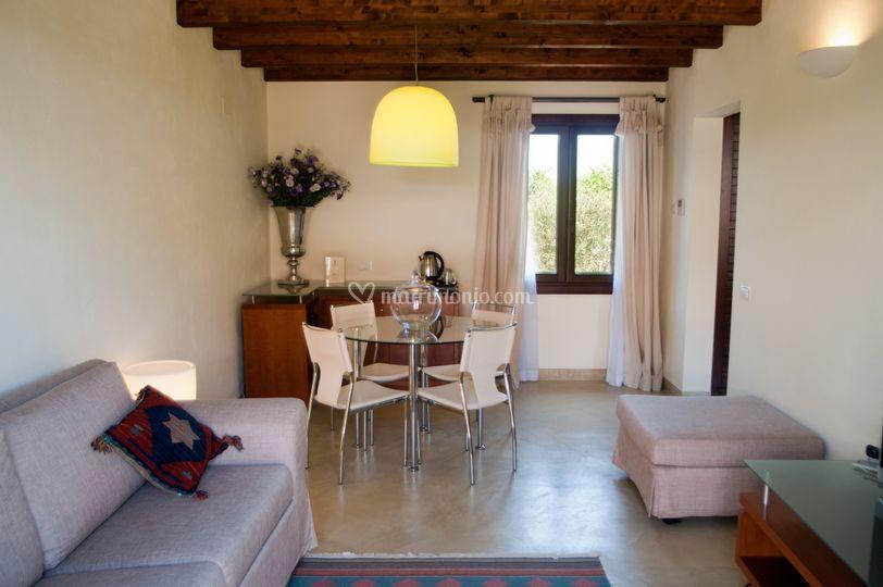 Area living suite
