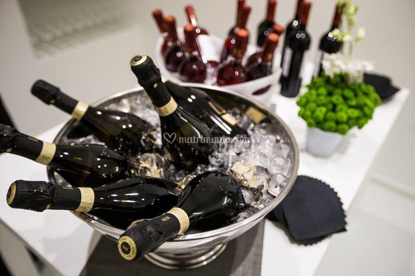 Cantina vini selezionata