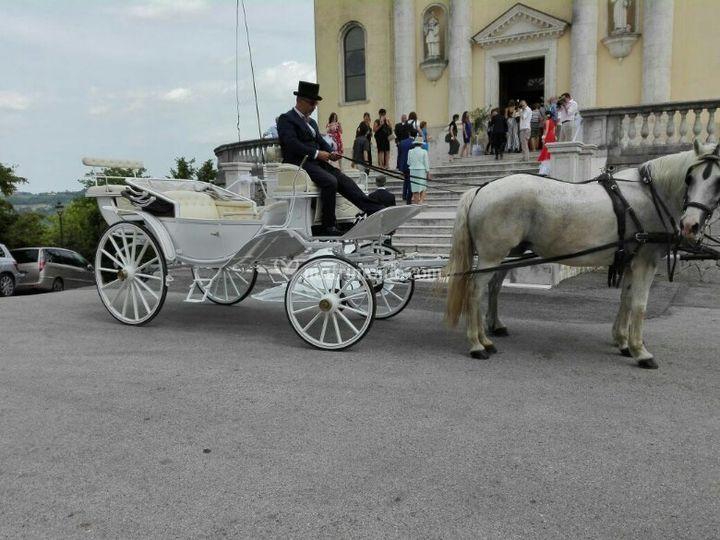 Carrozza calesse Vittoria