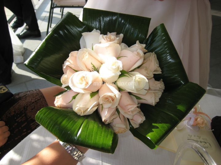 Esempio di bouquet rotondo
