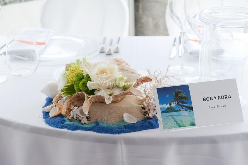 Il mare in tavola 2 di mengotti fiori flowers philosophy - Il mare in tavola ...