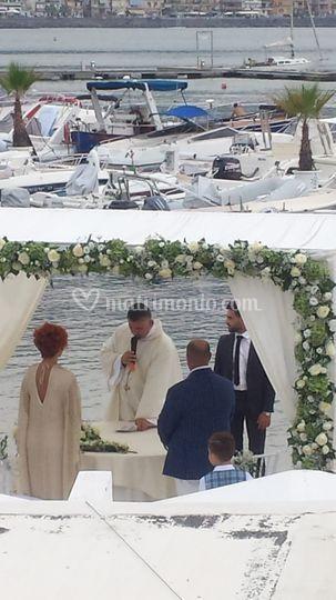 Matrimonio sul pontile