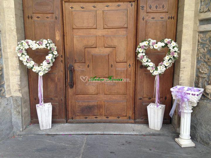 Tappeto Matrimonio Azzurro : Antica fioreria