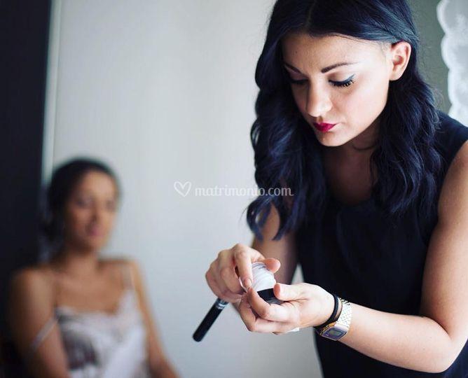 Sofia agostinelli makeup artis