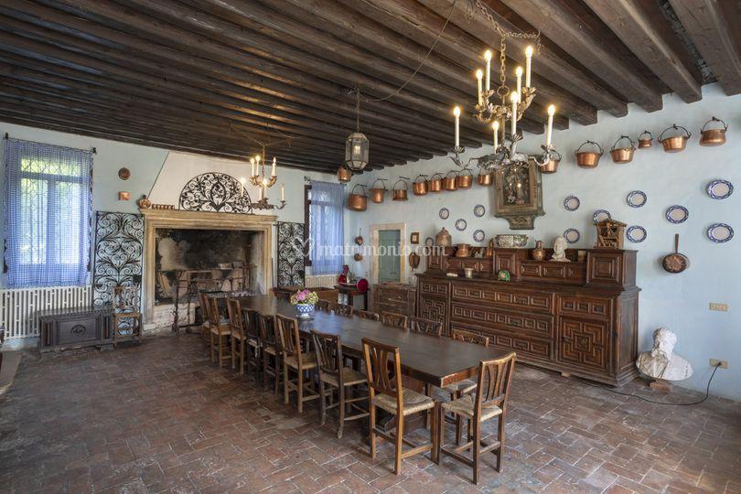 Salone della antica cucina