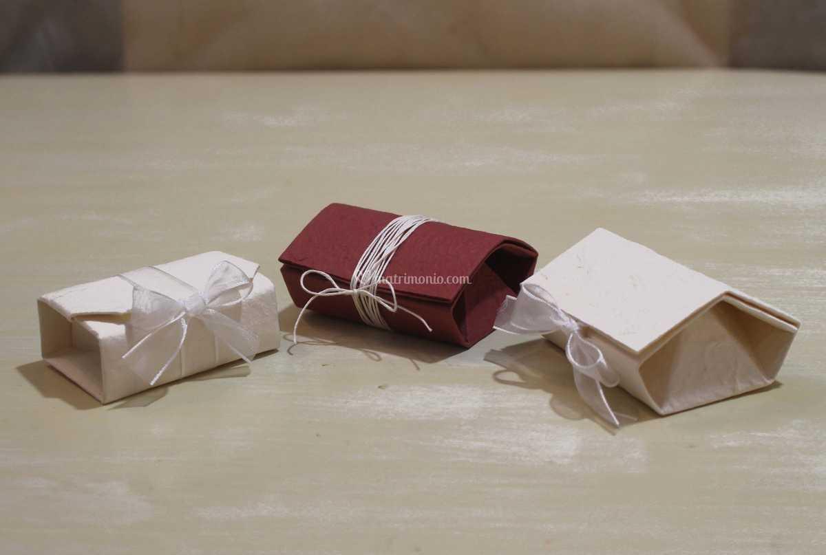 Bomboniere Matrimonio Origami.Bomboniera Origami Shabby Di Kartouche Foto 4