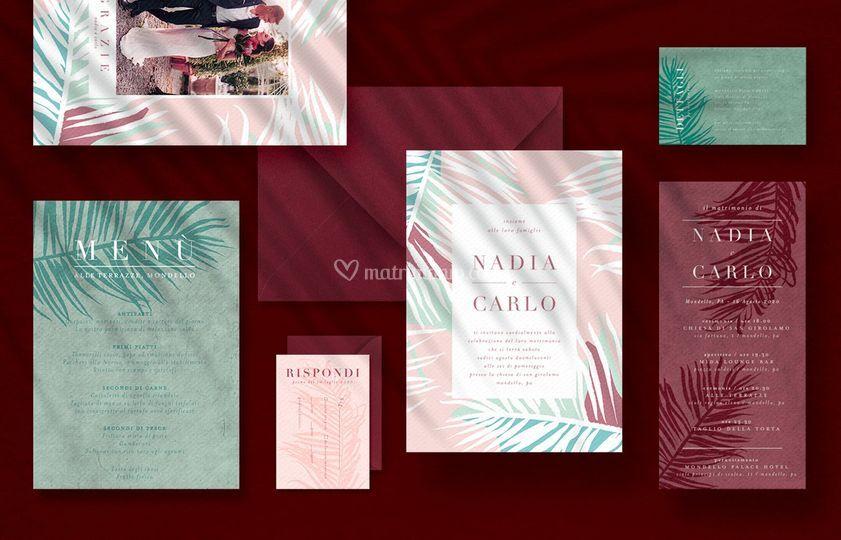 Kaleidos Wedding Paper