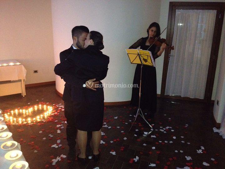 Una serenata col violino!