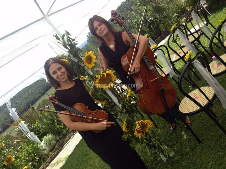 Duo Violino e Cello.