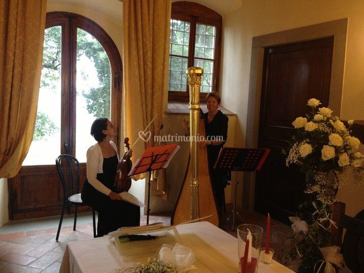 Violino e Arpa in rito civile