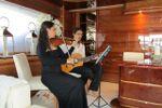 Violino e Chitarra in Yacht