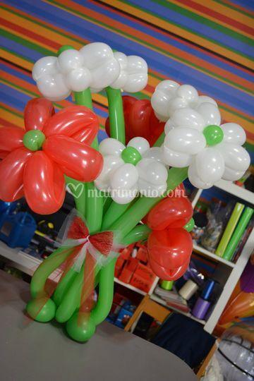 Bouquet palloncini modellabili