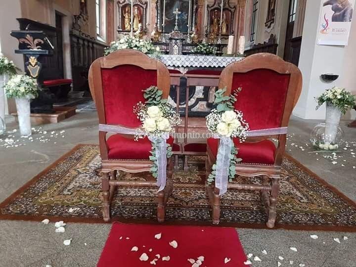 Sedie chiesa