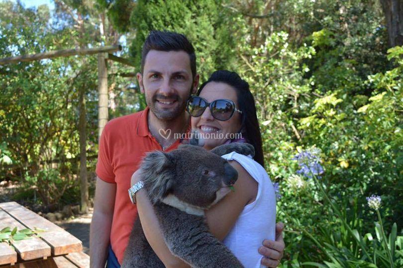 Sara e Andrea in Australia