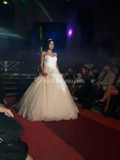 Foto sposa sfilata evento