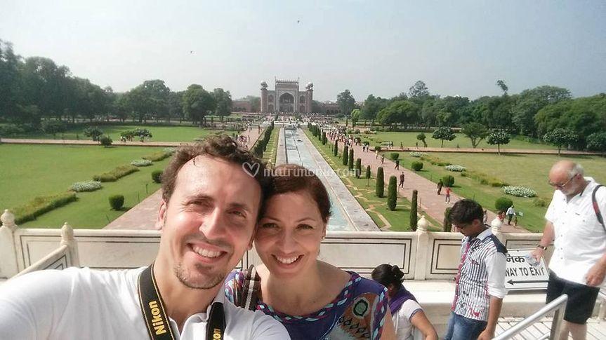 Gabriella e Andrea in India