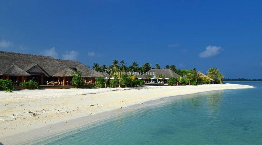 Spiaggia atollo di raa