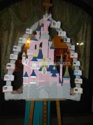 Tableau Disney in legno