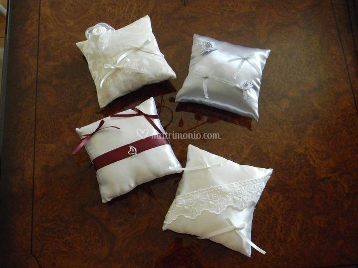 Cuscini realizzati a mano