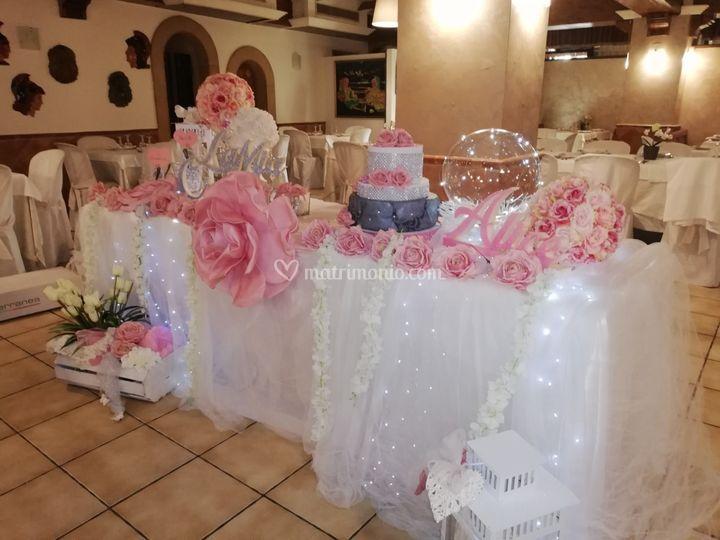 Tavolo decorativo