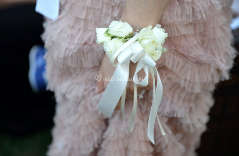 Dettagli bouquet sposa