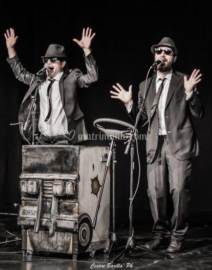 In Missione per Conto di Dio - a Blues Brothers Duo