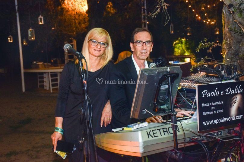 Paolo e Dalila musica Lecce