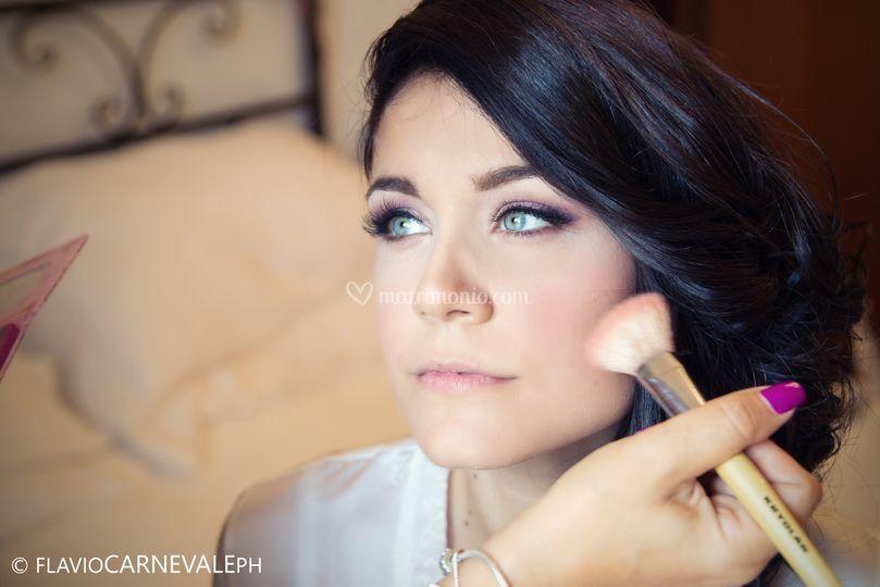 Sposa Make up viola