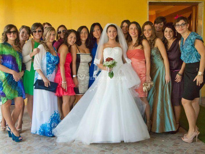 La sposa e le sue amiche